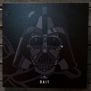 BAIT x David Flores Star Wars 24 Inch Canvas - Darth Vader (black)