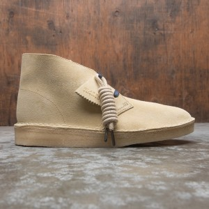 Clarks Men Desert Coal Suede (brown / maple suede)