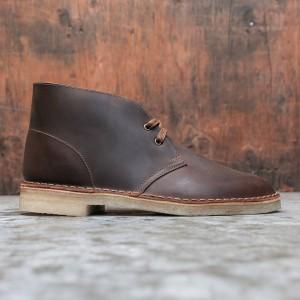 Clarks Men Desert Boot Beeswax (brown)