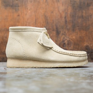 Clarks Men Wallabee Boot Suede (brown / maple suede)