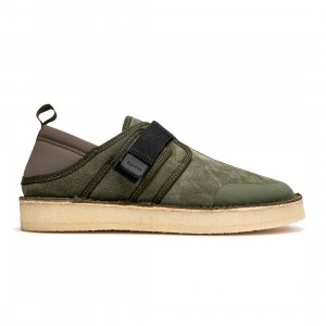 Clarks Men Trek Taiyo (olive / olive combination)