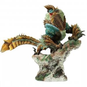 PREORDER - Capcom Figure Builder Creator's Model Monster Hunter Zinogre Re-pro Model Figure Re-Run (green)