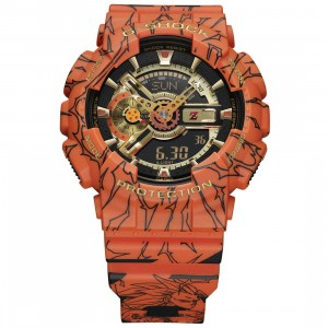 G-Shock Watches x Dragonball Z GA110 Watch (black / orange)