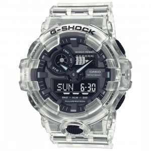 G-Shock Watches GA700SKE-7A Watch (white / clear)