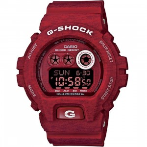 G-Shock GDX6900 Heathered Digital Watch (red)