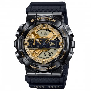 G-Shock Watches x New Era 100 Year Anniversary GM110NE-1A Watch (black)