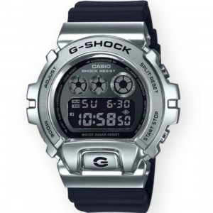 G-Shock Watches GM6900-1 Watch (black / silver)