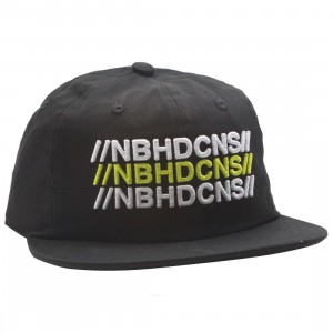 Converse x Neighborhood 6 Panel Hat (black)