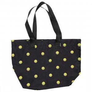 Converse Happy Camper Canvas Tote Bag (black / zinc yellow)