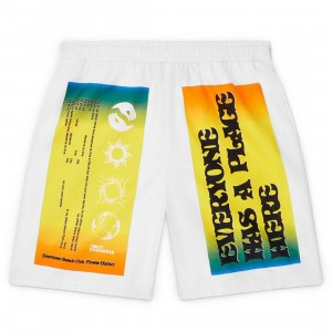 Converse x Rokit Men Shorts (white)