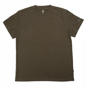 Converse x Kim Jones Men T-Shirt (olive / burnt olive)