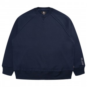 Converse x Kim Jones Men Crewneck (navy / black iris)