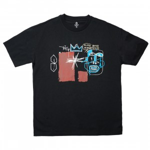 Converse x Jean-Michel Basquiat Men Elevated Graphic Tee (black)