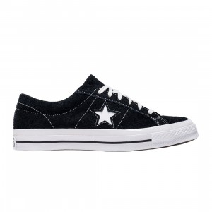 Converse Men One Star Vintage Suede Low Ox (black / white)