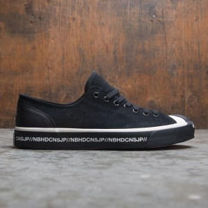 Converse x Neighborhood Men Jack Purcell Ox (black / egret)