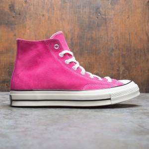 Converse Men Suede Chuck 70 Hi (pink / prime pink / black / egret)