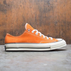 Converse Men Suede Chuck 70 Ox (orange / campfire orange / black / egret)