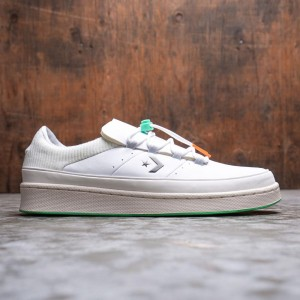 Converse Men Pro Leather Ox (white / jet stream)