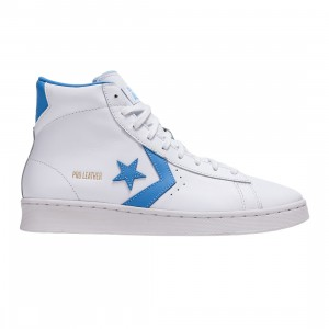 Converse Men OG Pro Leather Hi (white / coast blue)
