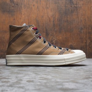 Converse Men Chuck 70 Hi (tan / burgundy / black)