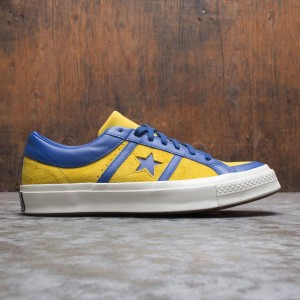 Converse Men Collegiate Suede One Star Academy Ox (yellow / lemon / midnight lake / egret)