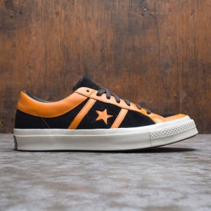 Converse Men One Star Academy Ox (black / russet orange / egret)