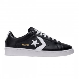 Converse Men Pro Leather Low Ox (black / white)