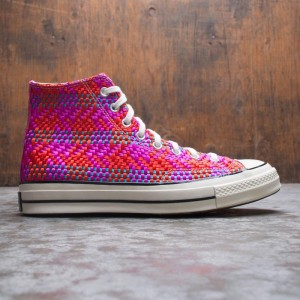 Converse Men Culture Weave Chuck 70 Hi (red / cherry red / pink pop / egret)