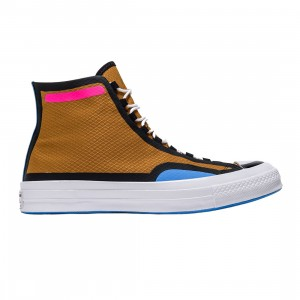 Converse Men Digital Terrain Chuck 70 Hi (brown / dark soba / black / hyper pink)