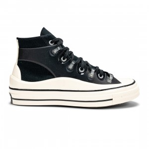Converse x Kim Jones Men Chuck 70 Utility Wave Hi (black / egret)