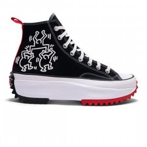 Converse x Keith Haring Men Run Star Hike Hi (black / white / red)