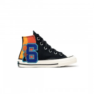 Converse x Space Jam A New Legacy Little Kids Chuck 70 Hi (black / mantra orange / multi)