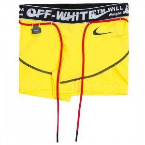 Nike X Off-White Women Pro Shorts (opti yellow)