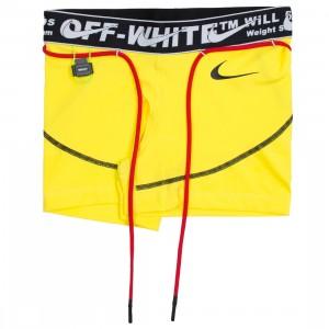 Nike X Off-White Women Pro Shorts (opti yellow)
