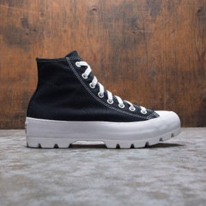 Converse Women Chuck Taylor All Star Lugged High Top (black / white)