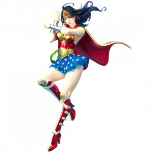 PREORDER - Kotobukiya DC Comics Armored Wonder Woman 2nd Edition Bishoujo Statue (red)