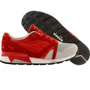 Diadora Men N9000 NYL (red / ferrari italy/ alaska gray)