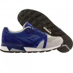 Diadora Men N9000 NYL (blue / limonges / alaska gray)