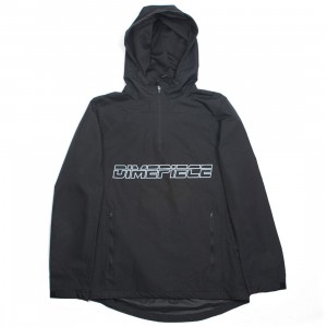 Dimepiece Women Wellness Anorak Jacket (black)