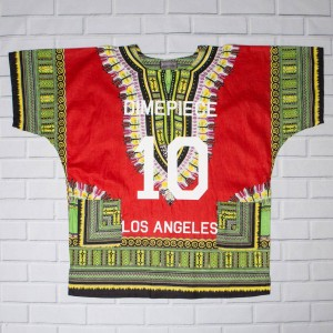 Dimepiece Women DMPC LA Dashiki Shirt (red / multi) 1S