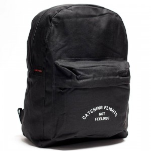 Dimepiece Catching Flights Not Feelings Backpack (black)