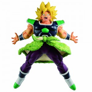 PREORDER - Bandai Ichiban Kuji Dragon Ball Super Saiyan Broly Rising Fighters Figure (green)