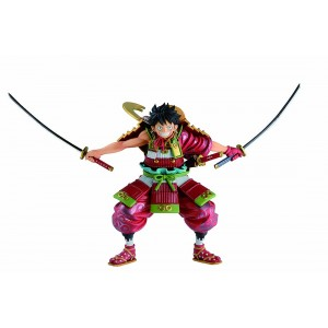 PREORDER - Bandai Ichibansho One Piece Armor Warrior Luffytaro Figure (red)
