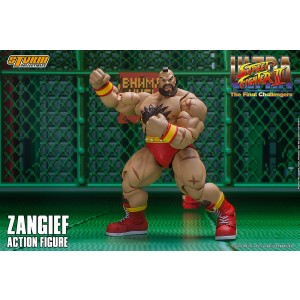 PREORDER - Storm Collectibles Ultimate Street Fighter II The Final Challenger Zangief Action Figure (tan)