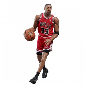 NBA x Enterbay Scottie Pippen Motion Masterpiece 1/9 Scale Figure (red)
