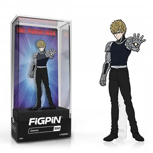 PREORDER - FiGPiN One Punch Man Genos #390 (black)
