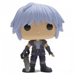 Funko POP Disney Kingdom Hearts 3 Riku Figure (purple)