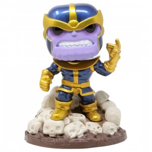 Funko POP Marvel Heroes 6 Inch Thanos Snap - PX Previews Exclusive (purple)