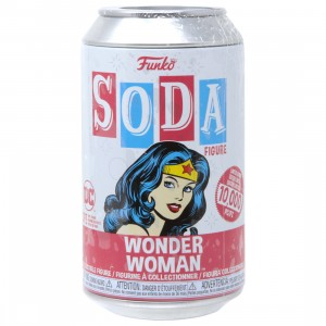 Funko Vinyl Soda DC - Wonder Woman (beige)