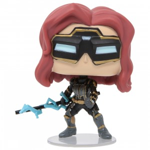 Funko POP Marvel Avengers Game - Black Widow Stark Tech Suit (black)
